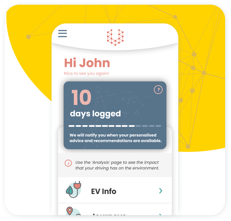 Switch App screenshot of 14 day challenge screen